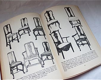Handbook of Antique Chairs by Carl Drepperd - Historical Furniture Reference Book - 1948 Compendium
