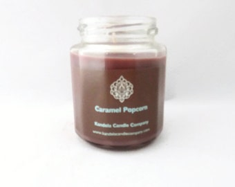 Caramel Popcorn 9 oz. Twelve Sided Jar