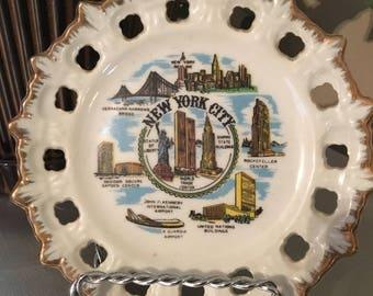 New York Souvenir Plate