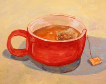 Big Mug - original oil painting