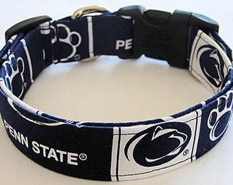 Penn State College Dog Collar