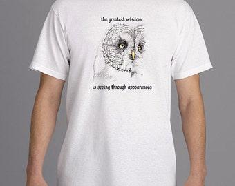 "T-shirt ""The Greatest Wisdom..."""