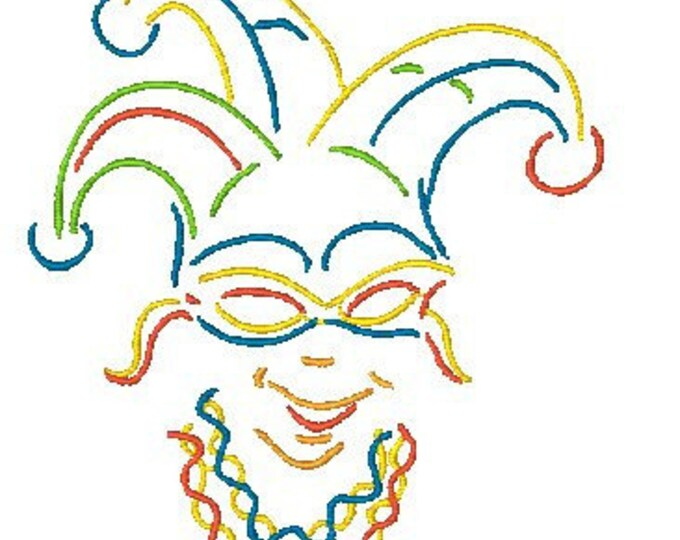 Art Deco Mardi Gras  ( 7 Machine Embroidery Designs from ATW )