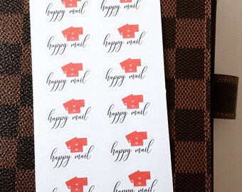 Happy Mail Stickers