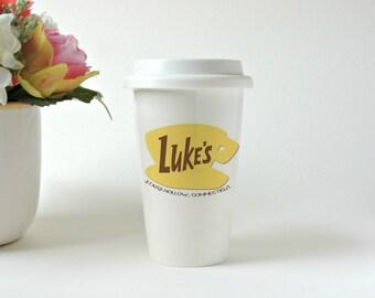Luke's Diner Mug * Gilmore Girls * Travel Mug * Ceramic Tumbler * Coffee Mug * Tea Mug * Custom Travel Mug