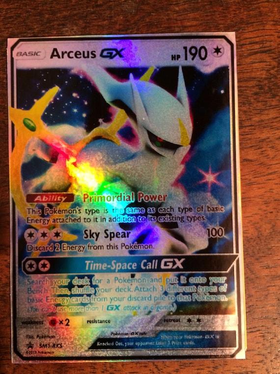 Arceus gx ex pokemon d 39 orica custom card - Pokemon arceus ex ...