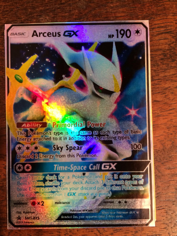 Arceus gx ex pokemon d 39 orica custom card - Carte pokemon ex et gx ...