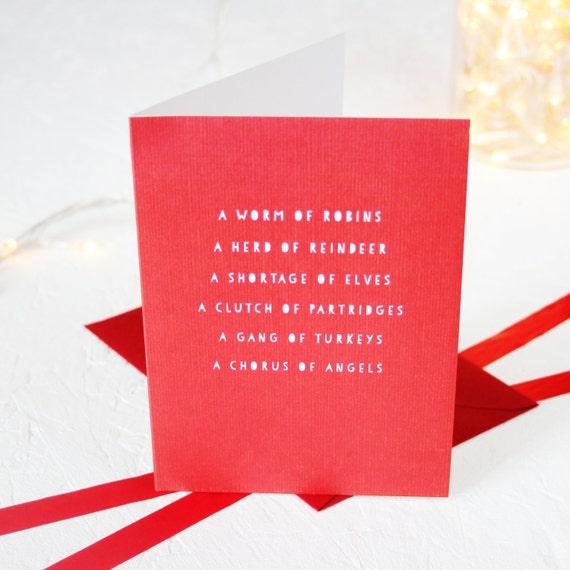 Christmas nouns card greeting cards packs english language greeting cards packs english language m4hsunfo
