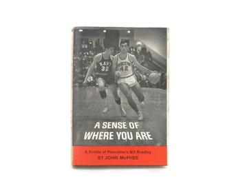 Profile of Princeton's Bill Bradley 1st Edition Book by John McPhee Ivy League Sports