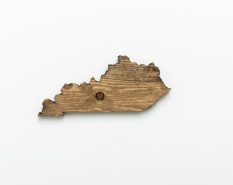 KY | Stained Wood Wall Art