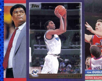 WASHINGTON BULLETS/WIZARDS Basketball Team Lot - 150 Assorted Cards