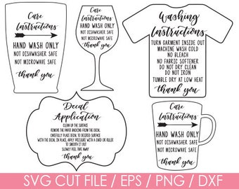 Care instructions, Care Instructions svg, Washing Instructions, Washing instructions svg, Care instructions bundle, Instruction bundle