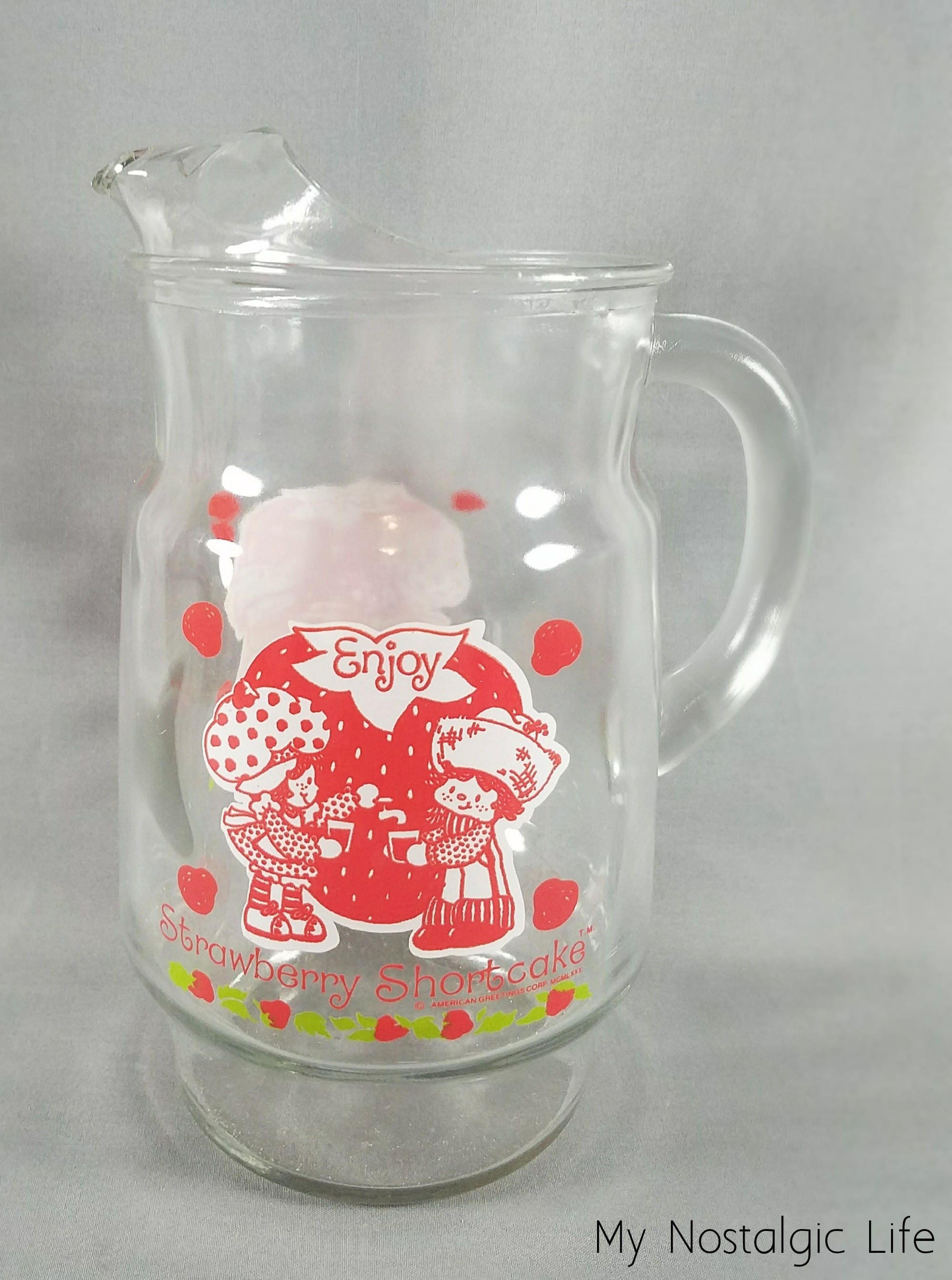 Original Strawberry Shortcake Enjoy Pitcher