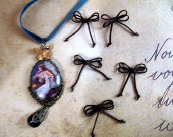 ebony rope knot scrapbooking vintage retro