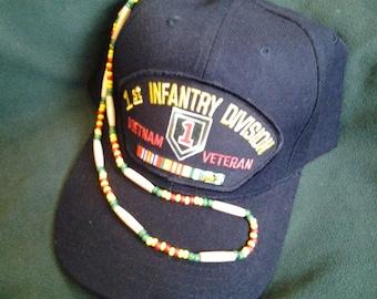 Vietnam / Viet Nam Veterans Beaded Honor Necklace FREE SHIPPING