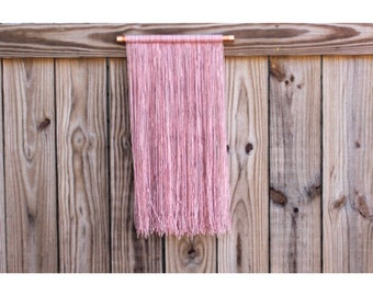 Copper + Yarn Blunt Mini Wall Hanging