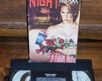 Prom Night Vintage VHS Movie Cassette