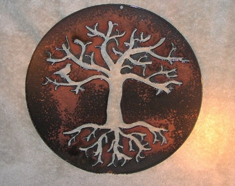 Tree of Life-Metal Wall Decor- Suitable for Indoors or Outdoors