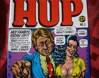 Hup No 1 Comix R Crumb Comic Book 1987 Last Gasp Mr Natural DULT MATERIAL