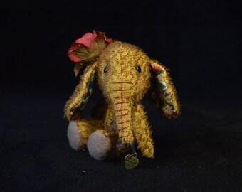 Artist Bear | Elephant | OOAK | Marigold