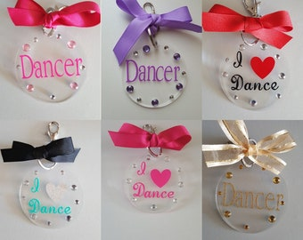 Keychains, Dance, Initials, Cheer, Personalize, Personalization, Gifts, Stocking Stuffer, Black Friday, Sale, Cyber Monday