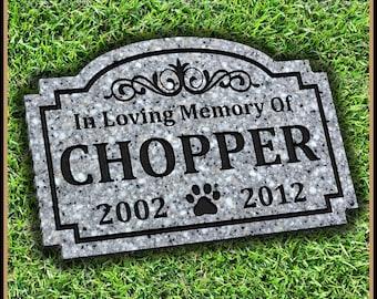 Pet memorial stones etsy pet memorial grave marker headstone dog cat horse gravestone personalized engraved pet garden stone pet memorial workwithnaturefo