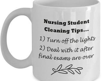 Funny Nursing Student Mug - Student Nurse Mug - -Gift For Nursing Students - Humorous Nursing School Mug
