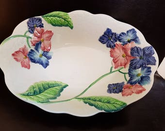Carlton ware flowered bowl
