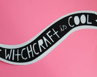 Witchcraft is Cool Vinyl Sticker