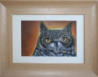 Owl painting - Acrylic original