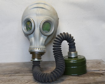 Military Vintage Soviet Army Gas Mask Gothik USSR punk masquerade mask steampunk mask