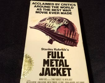 Full Metal Jacket VHS