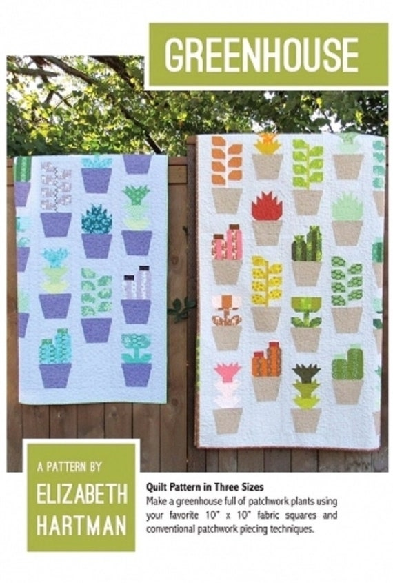 GREENHOUSE - Pattern by Elizabeth Hartman