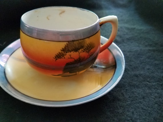1930s Japanese Made Cup and Saucer