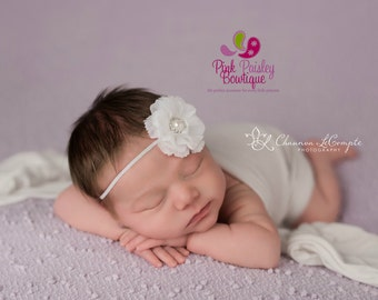 You Pick 1 Baby Headbands - Newborn Headbands-  Infant Headbands- Baby girl headbands - Flower Headbands - Baby Hair Accessories