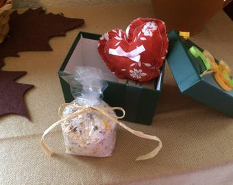 Gift box small - handmade