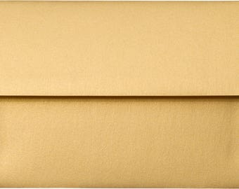 "50 Gold Metallic Shimmer Envelopes - A8 ( (5 1/2"" x 8 1/8"")"