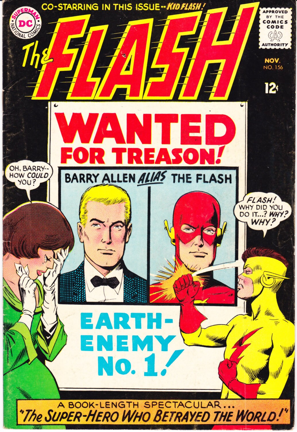 The Flash Superhero 156 Barry Allen comic book party gift