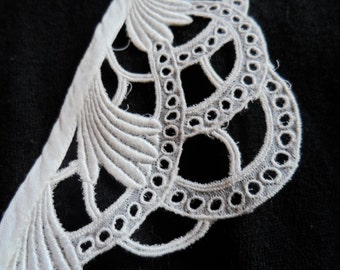 Collar, Great Gatsby, 1920s, lace collar pieces.