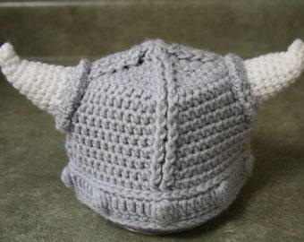 Kids viking hat etsy crocheted childrens viking hat dt1010fo