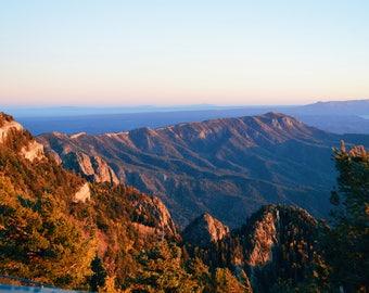 Mountain Sunset ORIGINAL PHOTO PRINT