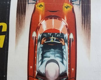 British racing show poster