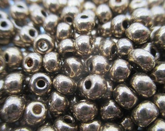 Seed of 4.5 mm bronze gold - 1 packet of 10 gram