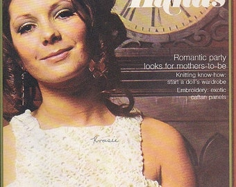 ON SALE Golden Hands Encyclopaedia of Knitting Dressmaking and Needlecraft Guide Part 14 1970s