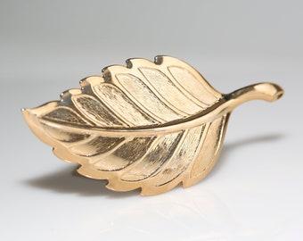 Vintage Gold Leaf Barrette