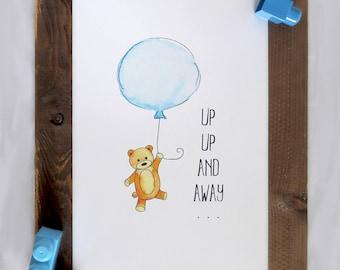 Digital Download Nursery Art,