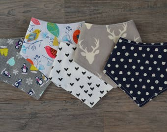 Any FIVE Bandana Bibs - You Choose!