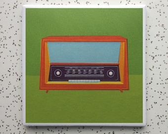 Transistor Tile Coaster