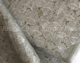 DOUBLE GAUZE- Situation Khaki, Nani IRO, Japanese Fabric, Double Gauze Cotton Fabric