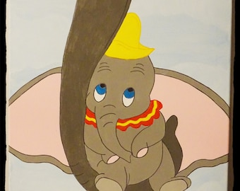 Disney's Dumbo Inspired Painting